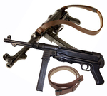 MP 40 Deko Metall m. Trageriemen
