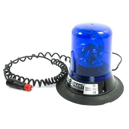 polizei blaulicht mit magnetfu balmung ausr stungen. Black Bedroom Furniture Sets. Home Design Ideas